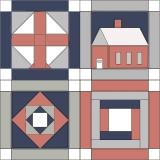 Quilt Block Logo